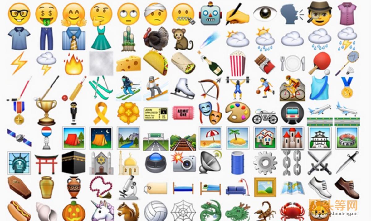 苹果iOS9.1更新emoji表情符号 一大波卖萌表情席卷全球